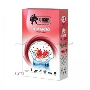 کاندوم سزار مدل Compacto بسته 12 عددی