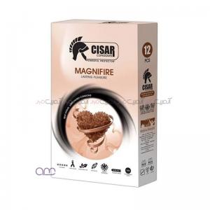 کاندوم سزار مدل Magnifier بسته 12 عددی