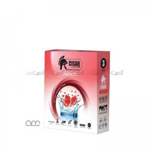 کاندوم سزار مدل Compacto بسته 3 عددی
