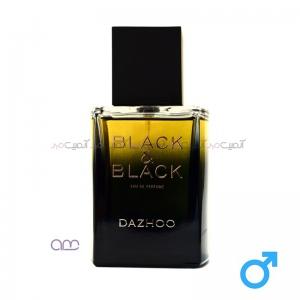 ادو پرفیوم مردانه داژو مدل Black & Black حجم 100 میلی لیتر