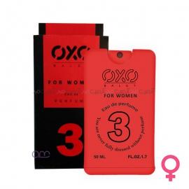 عطر جیبی زنانه OXO مدل 03 حجم 50 میلی لیتر