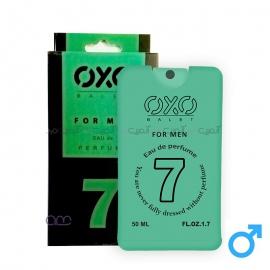 عطر جیبی مردانه OXO مدل 07 حجم 50 میلی لیتر