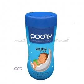دستمال مرطوب و معطر کودک Poosy کد 01