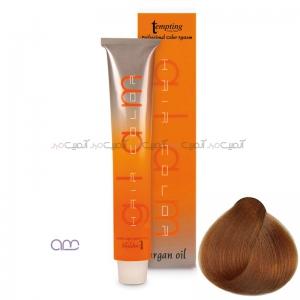رنگ مو عسلی متوسط حاوی روغن آرگان Tempting شماره 6.15