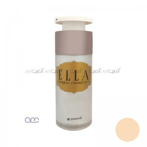 کرم پودر مایع پمپی الا Ella مدل E01
