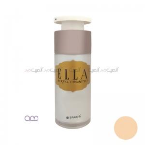 کرم پودر مایع پمپی الا Ella مدل E02