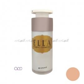 کرم پودر مایع پمپی الا Ella مدل E04
