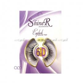 مژه مصنوعی 6D شاینر shiner کد 08