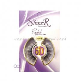 مژه مصنوعی 6D شاینر shiner کد 04