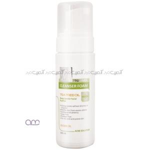 فوم شستشو مای سری acne solution مدل tea tree oil حجم 150 میلی لیتر