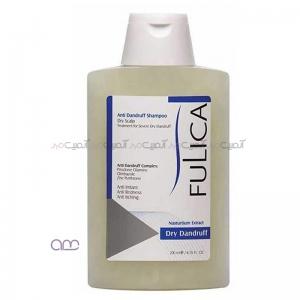 شامپو ضد شوره فولیکا Fulica مخصوص موهای خشک حجم 200 میلی لیتر