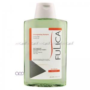 شامپو کاهش دهنده چربی فولیکا Fulica مخصوص موهای چرب حجم 200 میلی لیتر