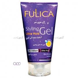 ژل مو فولیکا Fulica مدل Ultra Hold با حالت دهندگی قوی