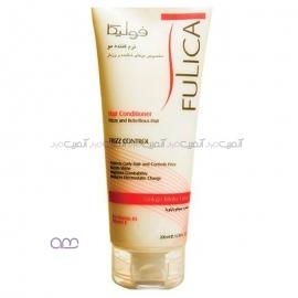 نرم کننده فولیکا Fulica مخصوص موهای شکننده و وز دار حجم 200 میلی لیتر