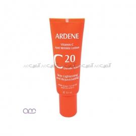 لوسیون ضد چروک آردن مدل Vitamine C مقدار 30 گرم