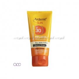 کرم ضد آفتاب آردن مدل Natural مقدار 50 گرم