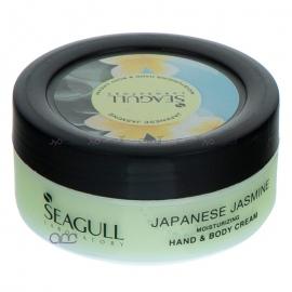 کرم مرطوب کننده سی گل SEAGULL مدل Japanese Jasmine حجم 100 میلی لیتر