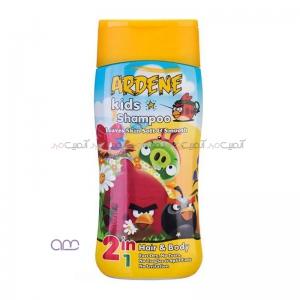 شامپو بچه دخترانه آردن مناسب برای سر و بدن حجم 200ml