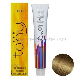 رنگ مو تونی سری طلایی شماره 7.3 رنگ بلوند طلایی متوسط حجم 100 میلی لیتر