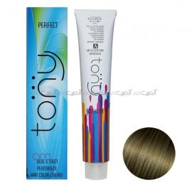 رنگ مو تونی سری زیتونی قوی شماره 8.22 رنگ بلوند زیتونی روشن قوی حجم 100 میلی لیتر