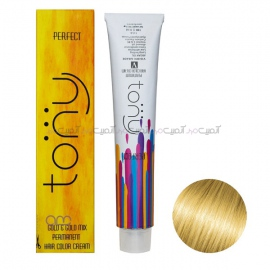 رنگ مو تونی سری طلایی شماره 9.3 رنگ بلوند طلایی خیلی روشن حجم 100 میلی لیتر