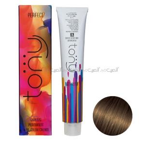 رنگ مو تونی سری اکسپرتس شماره RT6 رنگ گردویی حجم 100 میلی لیتر