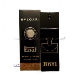 عطر جیبی مردانه فینال مدل bvlgari jasmin noir حجم 20 میلی لیتر
