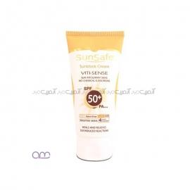کرم ضد آفتاب سان سیف sunsafe مدل Viti-Sense با SPF50