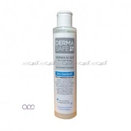 شامپو ضدشوره مو درماسیف Dermasafe مدل DERMA-SCALP حجم 200 میلی لیتر
