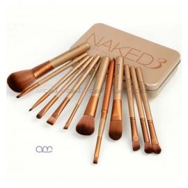 ست براش آرایشی اربن دیکی urban decay مدل Naked برنز 12 عددی