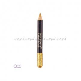 مداد چشم و لب اکلیلی اور بیوتی EVER BEAUTY رنگ طلایی