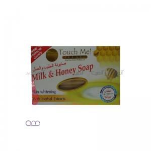 صابون شیر عسل تاچ می touch me حجم 135 میلی لیتر