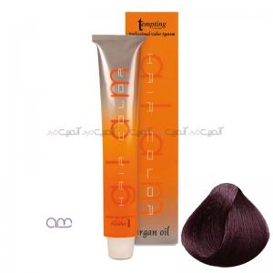 رنگ مو بادمجانی حاوی روغن آرگان Tempting شماره 5.20